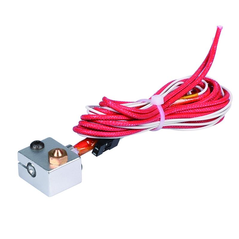 В 3D V6 на междугородние Джей-главаend для 1.75 мм/3 мм 3D и бантики штрангпресса 0.2/0.3 /0.4/0.5 sad мм для 3д принтера reprap-принтер