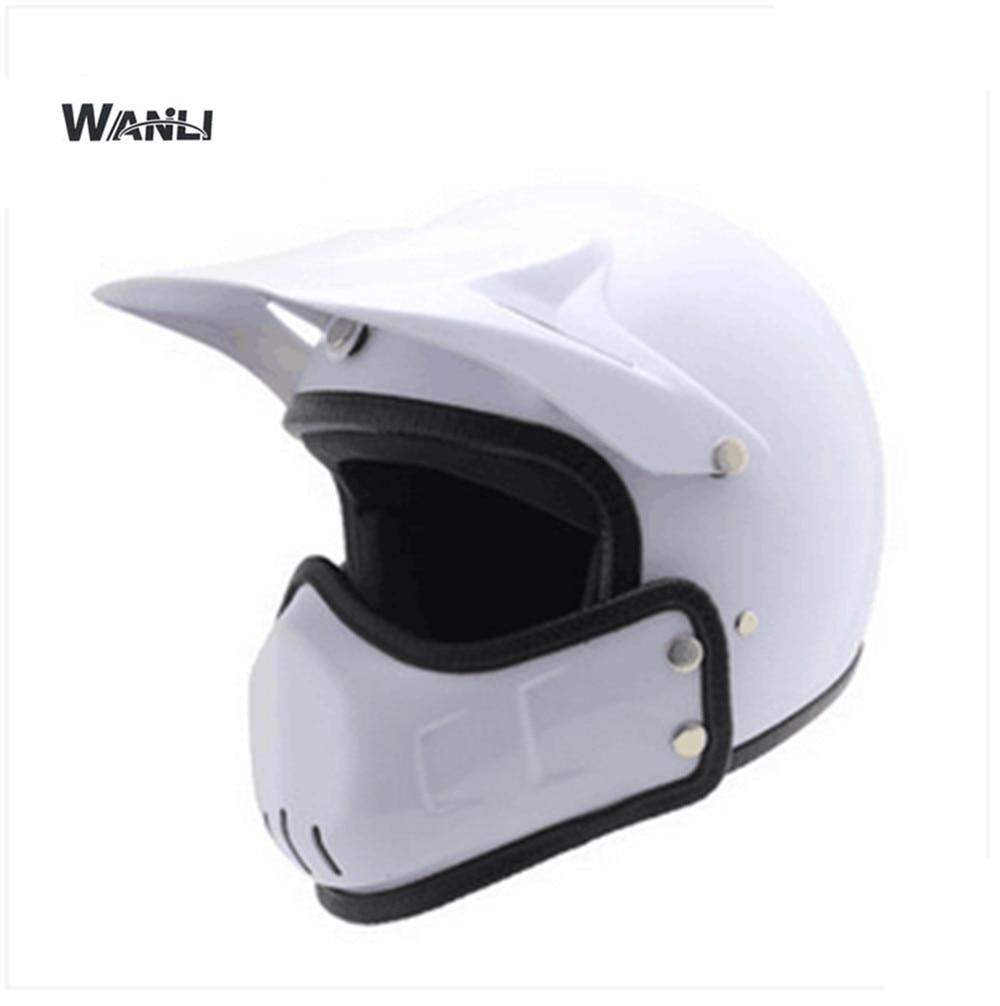 white Motorcycle helmet casco de moto cafe racer helmet modular Full Face dual lens visor capacetes de motociclista asd b2 0721 b detla ac servo drive 1ph 220v 750w 5 1a new in box
