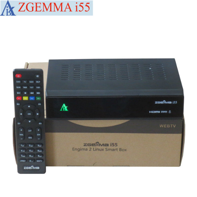 US $1239 0 |20pcs/lot Best Linux IPTV BOX New ZGEMMA i55 with BCM7362 Dual  Core IPTV Set Top Box Support USB WIFI-in Satellite TV Receiver from
