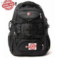 Waterproof Swiss Swisswin Suissewin Usb Laptop Backpack Gear 15 Usb Charge Large Capacity Business Backpacks Travel