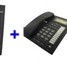 АТС телефонная система SV308(3 линии+ 8 доб.) и 8 шт телефонный набор