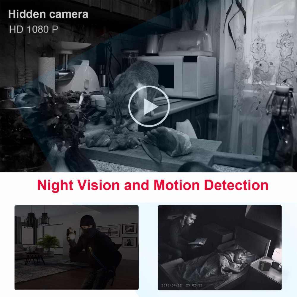Mini Camera HD 1080P  Micro cam sport dv Infrared Night Vision Motion Detection Nanny surveillance Camera support hidden TF card