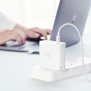 Image 5 - ZMI USB מטען 65W 3 יציאת עבור אנדרואיד iOS מתג חכם פלט סוג C 45W USB A 20W מחוון אור מתנה כבל