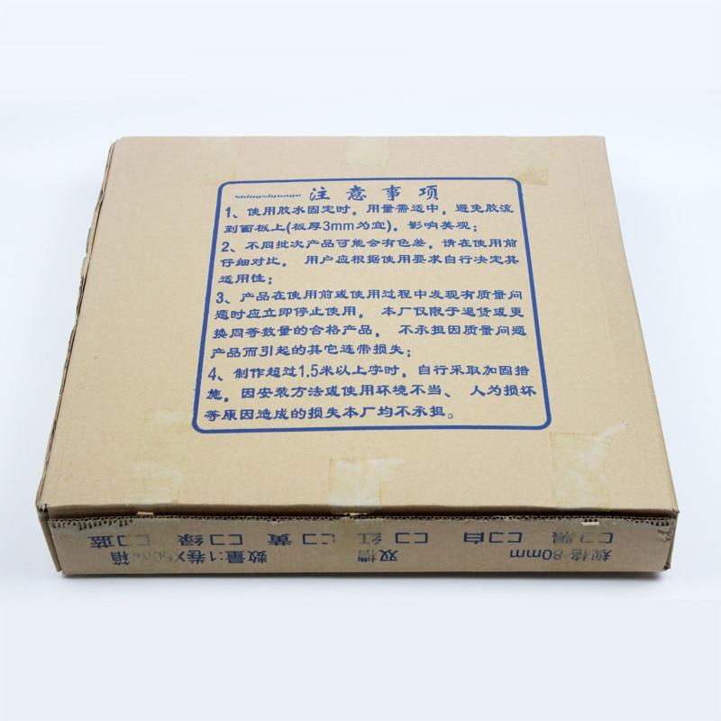 Alumínium műanyag led jelzőtáblák hengeres csatorna levél - Elektromos szerszám kiegészítők - Fénykép 4