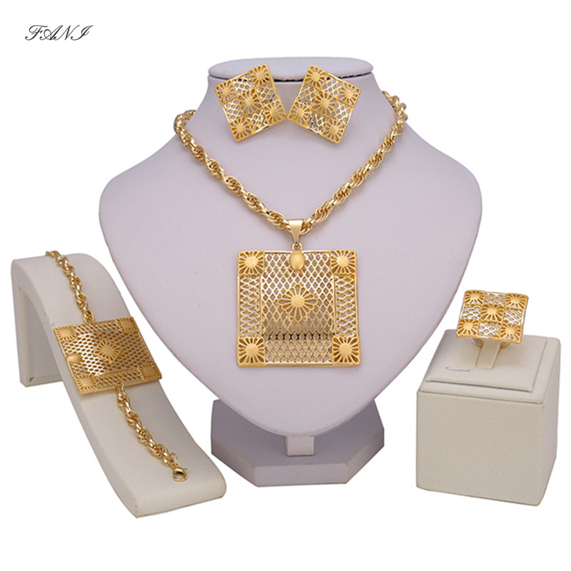 Nigerian Wedding Gifts: Aliexpress.com : Buy Fani Dubai Gold Color Brand Jewelry