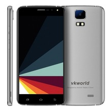 VKworld S3 5.5 inch 3G Smartphone Android 7.0 MT6580A Quad Core Mobile Phone 1.3GHz Dual SIM 1GB RAM 8GB ROM Cell Phone OTA FM