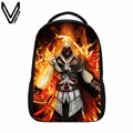 VEEVANV 2017 New Design Assassin's Creed Backpacks Cool Printing School Bags For Teenagers Children Backpacks Student Bags Gifts
