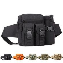 Спорт на открытом воздухе Талия пакеты Нейлон Camo сумка многоцелевой Тактический Восхождение Путешествия Отдых На Природе Охота Велоспорт Чайник мешки