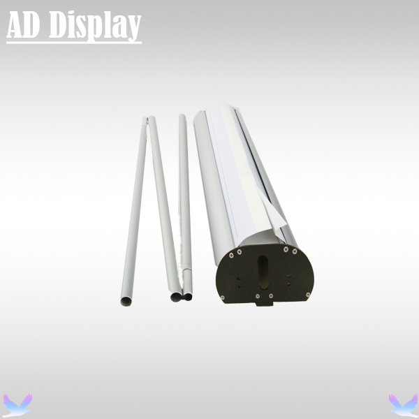 Exhibition Stand Roll Up : Cm pcs double side aluminum roll up banner display stand