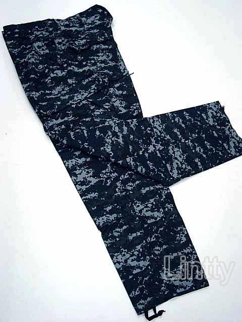 US Navy Blue Digital ACU Style Pants Digital Navy Blue ...