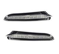 2pcs Car headlight for Opel Mokka 2012 2013 2014 2015 Driving DRL Daytime Running Light lamp LED Daylight Relay fog lamp