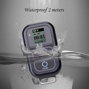 Image 5 - Go Pro WiFi Afstandsbediening + Lader Kabel Polsband Waterdichte GoPro Remote Case voor Hero 8 7 6 5 zwart 4 sessie 3 + Accessoire