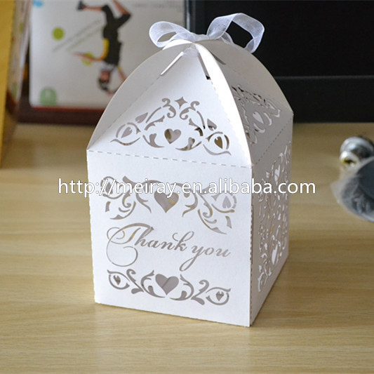 Amazing Wedding Cake Boxes For Guests Wedding Thank You Gift Laser