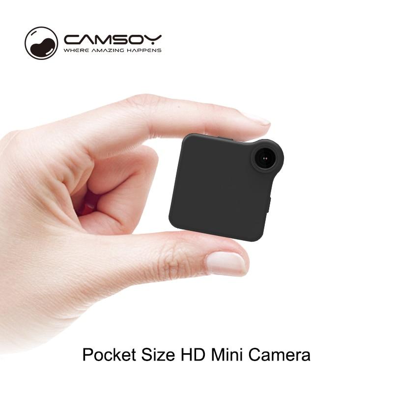 2018 nueva mini cámara HD de 8 millones de píxeles mini DV vidicon soporte WIFI visualización remota tarjeta microSD TF vídeo en bucle