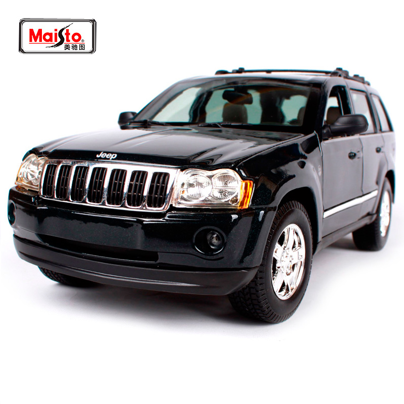 Maisto 1:18 2005 JEEP Grand Cherokee SUV Car Diecast Model Car Toy New In Box Free Shipping 31119 new power steering pump for car jeep grand cherokee suv 2 7 crd 4x4 diesel
