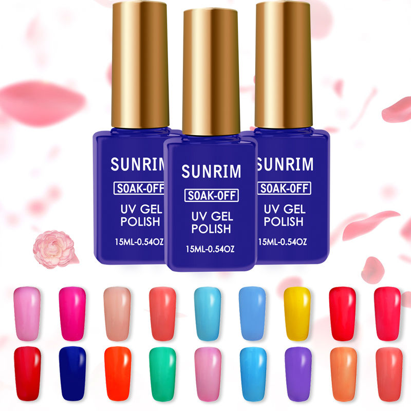 New Summer Light Color UV Gel Nail Polish 15ml Gel Lucky of Nail ...