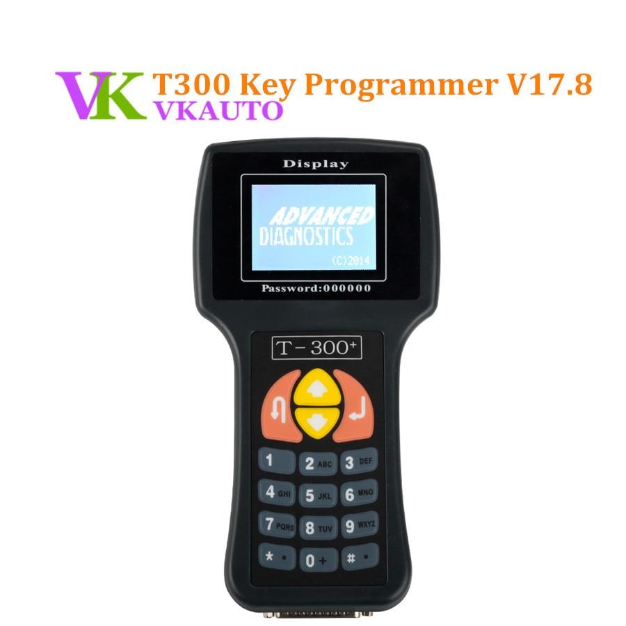 Automam T300 Plus Key Programmer Latest V17 8 English Spanish Black Blue T 300 Auto OBD2