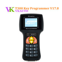 Автоматический T300 плюс ключ программист последний V17.8 английский испанский черный синий T-300 + Авто OBD2 изготовление дубликата ключей ELME инструменты