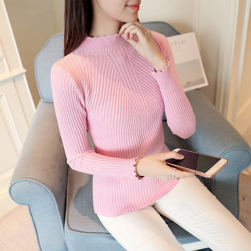 OHCLOTHING La nueva primavera Coreano puro Camisa de Manga Corta apretada delgad