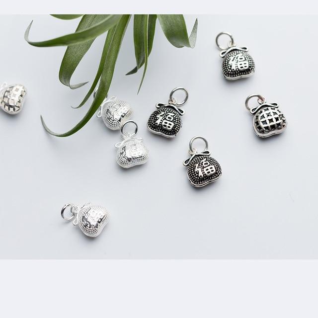 Uqbing оптовая продажа винтажная Подвеска из стерлингового серебра