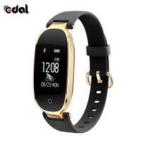 EDAL S3 Dynamic Heart Rate Bracelet Smart Bracelets Women S Heart Rate Monitor Smartband Lady Femminil