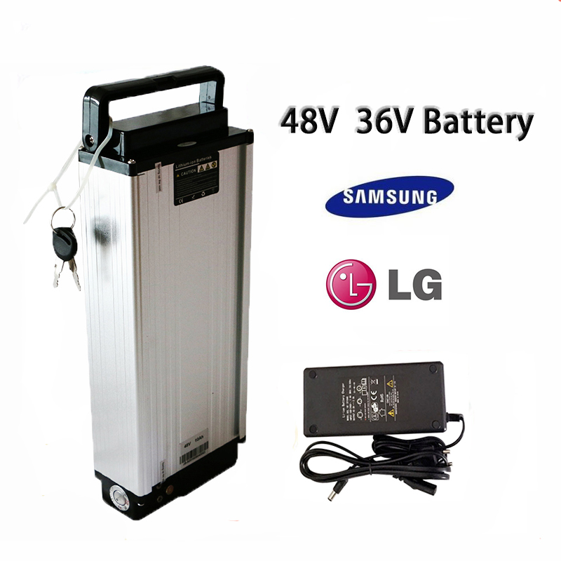 48v Battery Rear Rack 36v 48v 10Ah 12Ah 14Ah Ebike Battery For Electric Bike Usage Velo Electrique Electric Bike Kit 10 20Ahce