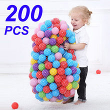 200 PCS/bag Outdoor Sport Ball Colorful Soft Water Pool Ocean Wave Ball Baby Children Funny Toys Eco-Friendly Stress Air Ball(China)