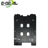 E deal 2pc M type PVC ID Card Tray for Canon PIXMA TS8010 TS8020 TS8030 TS8040 TS8050 TS8060 TS8070 Printer Plastic ID Card Tray