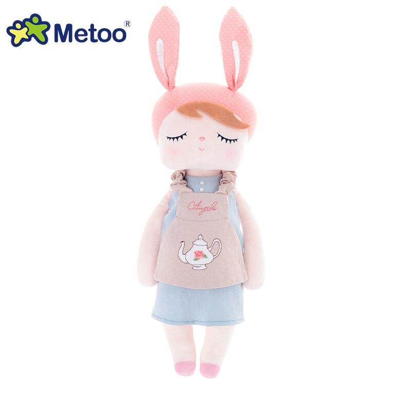 Metoo Toys أنجيلا أرنب لطيف لينة محشوة - اللعب القطيفة