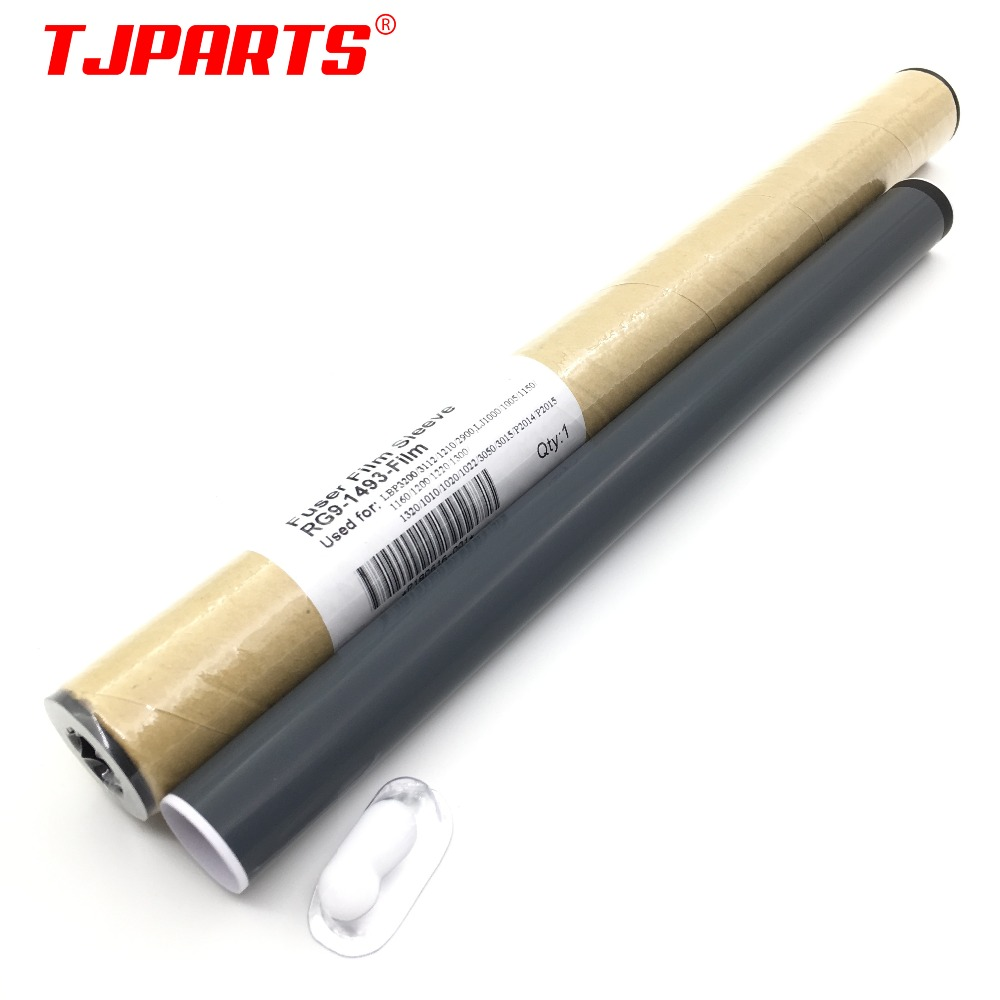 Original NEW For HP LJ1000 1150 1160 1200 1220 1300 1320 1010 1022 3050 3015 3300 Fuser Film Sleeve With Grease RG9-1493-Film