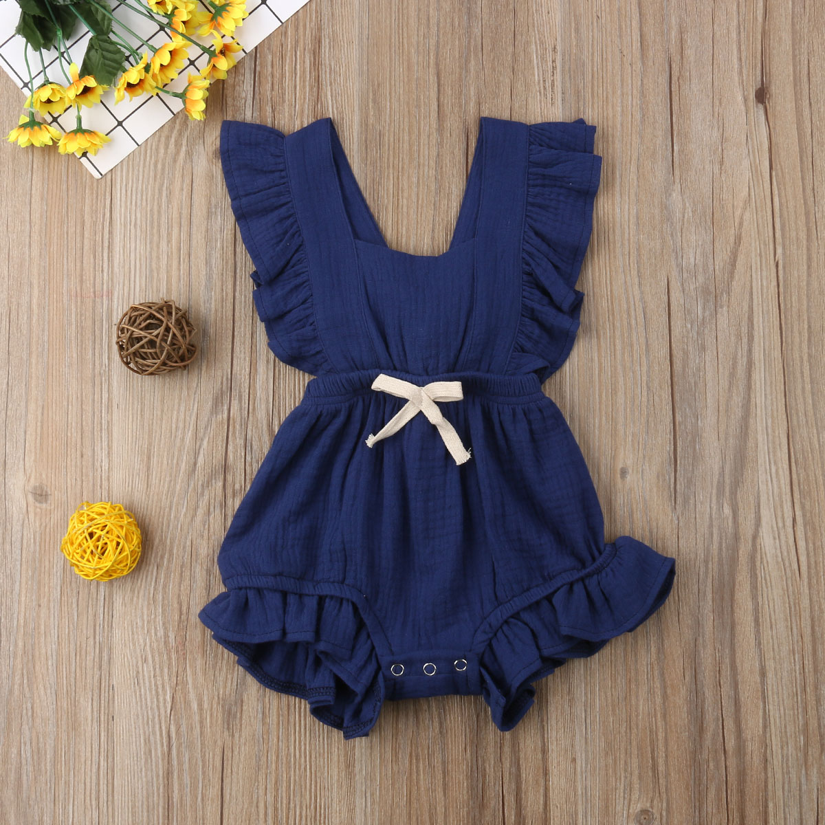 HTB1v8TLaozrK1RjSspmq6AOdFXac 2019 Brand New Infant Newborn Baby Girls Ruffle Rompers One-Pieces Clothes Baby Girl Summer Sleeveless Romper Jumpsuit Sunsuit