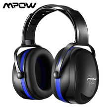 Mpow HP044 SNR36dB Noise Cancellation Ear Earmuffs Hearing Protection Ear Defenders With Adjustable Headband For Shooting Mowing