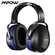 Mpow orejeras HP044 SNR36dB con cancelación de ruido, protección auditiva, orejeras con diadema ajustable para tiro y remolque