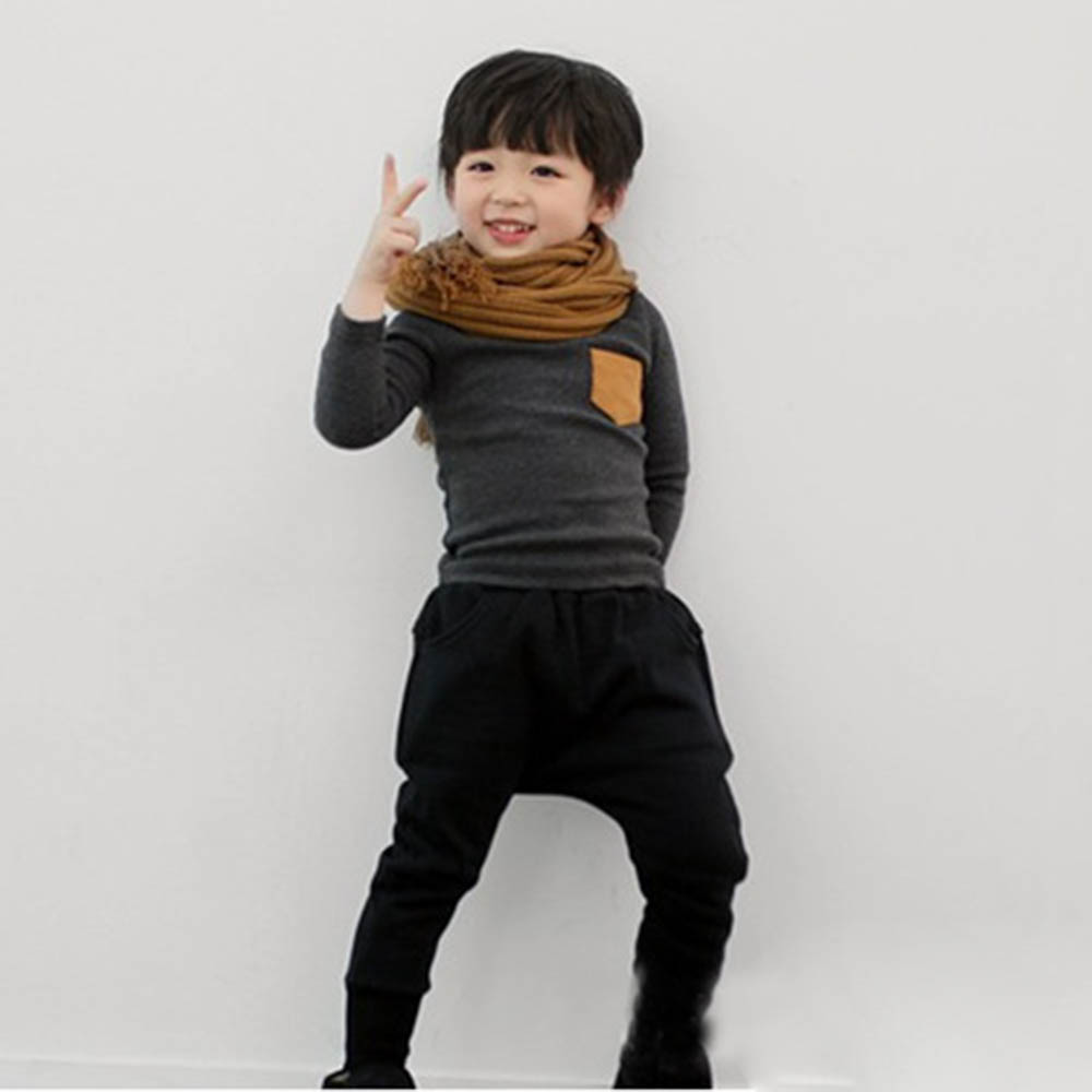 Autumn-Baby-Kids-Long-Sleeve-Crewneck-T-shirt-Pocket-Decor-Boy-Girl-Shirt-Clothes-2-7-Years-Hot-Sale-5