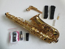 Beijing XAS-210T E flat paint Gold Tenor Saxophone instrument timbre security products