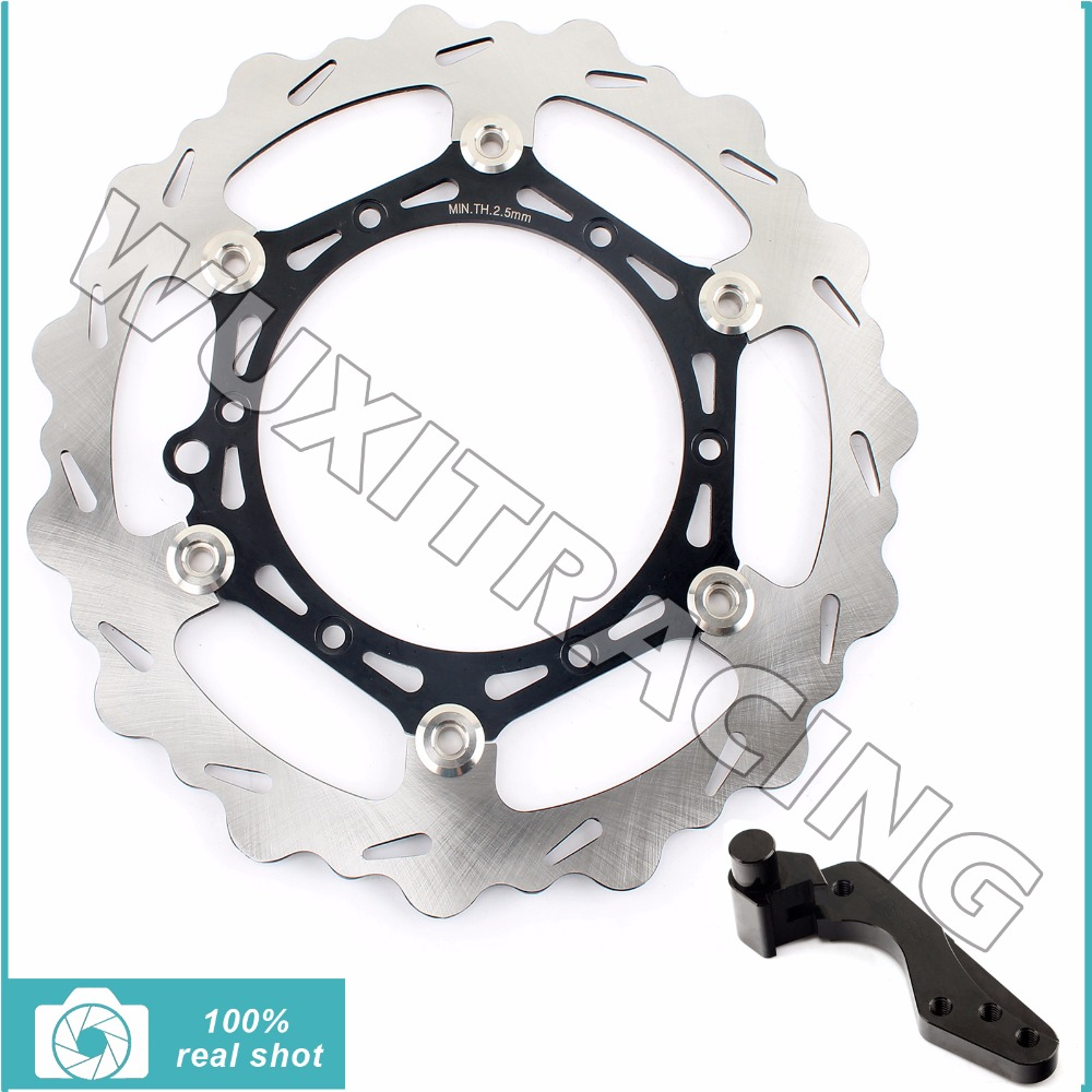 front brake disc rotor for ktm 450 500 505 520 525 530 540600 620 625 exc f sixdays egs sxs mxc xc w sx f lc4 94 16 270MM Oversize Front Brake Disc Rotor Bracket for 144 300 400 505 520 540 625  KTM EXC R MXC SXS SXC SXF EGS XC G W F LC4 92-09