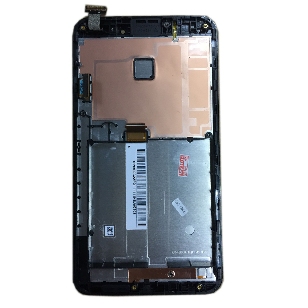 For Asus Fonepad Note 6 FHD6 ME560CG ME560 K00G with Frame BLACK Color LCD Touch Screen Digitizer Assembly