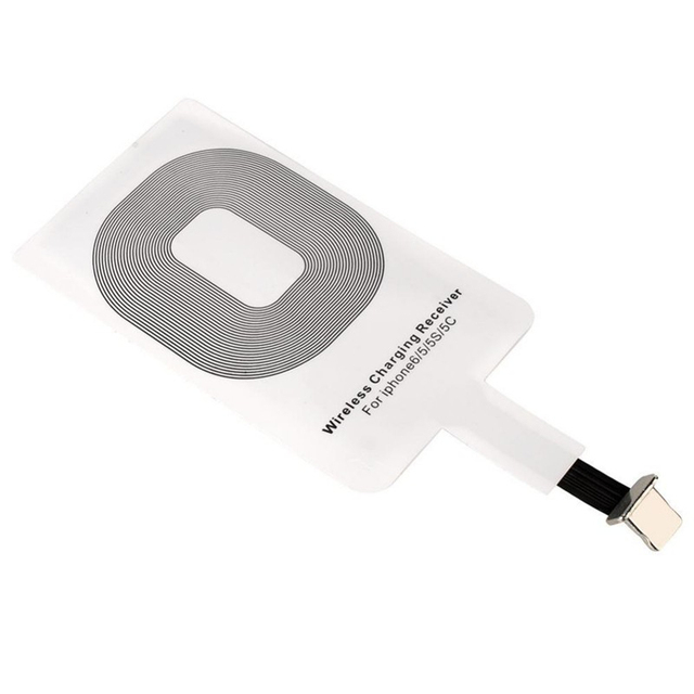 Qi Wireless Charging Kit Transmitter Charger Adapter Receptor Receiver Pad Coil for IPhone 5 5C SE 5S 6 6S 7 Plus for Iphon Ipad