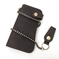 Men Genuine Leather Wallets Classic Long Style Card Holder Male Purse Quality Zipper Large Capacity Big Brand Luxury Wallet Bag