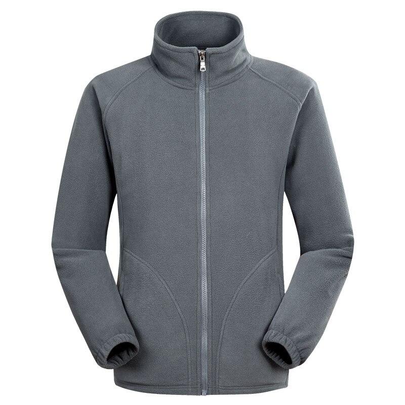 Jacket Fleece Coat Clothing Outerwear Army Tactical Outdoor Winter Windproof Liner Collar