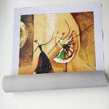 Unframed 3 Panel Handpainted Ballet Dancer Abstract Modern Wall Art Picture