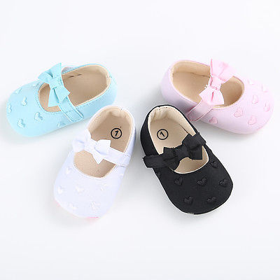 Pudcoco New Baby First Walkers Soft Bottom Butterfly-knot Princess Baby Shoes Prewalkers Boots For 0-18M Baby 2017