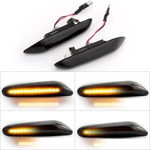 Image 1 - Luces LED intermitentes para coche, indicador de giro, indicador lateral, para bmw E90, E91, E92, E93, E60, E87, E82, E46, 1 par