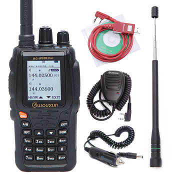 Wouxun KG-UV8D Plus Walkie Talkie Duplex Cross Band Repeater 999 Channels Multi functional DTMF VHF UHF Dual Band Two way Radio - DISCOUNT ITEM  16% OFF Cellphones & Telecommunications