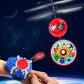 2016 Novo Robô Sem Câmera Veículo Aéreo de Indução Suspenso O Frisbee Tiro Quadcopter RC Helicóptero Assecla Voar Brinquedos