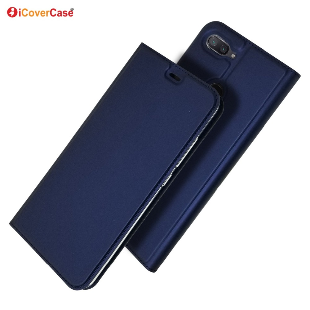Ultra-thin PU Leather Flip Wallet Case Stand Cover For Xiaomi Mi 8 Lite