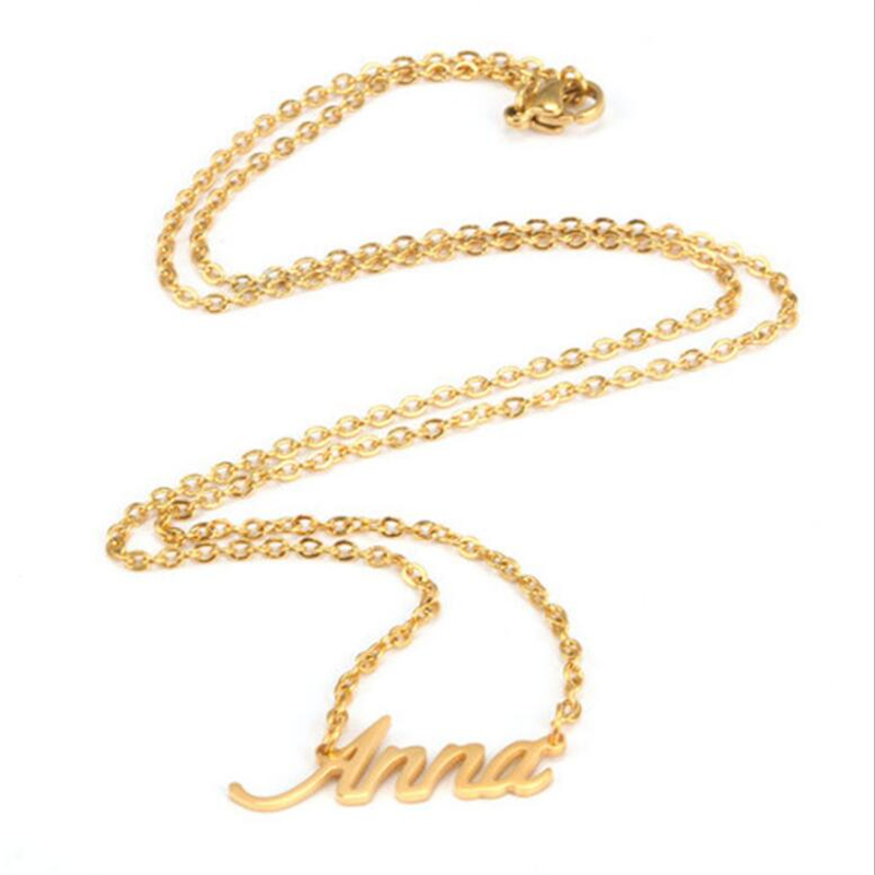 Necklace Women Name
