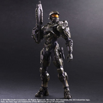 Play Arts KAI HALO 5 Guardians No.1 Master Chief PVC Action Figure Collectible Model Toy 27cm