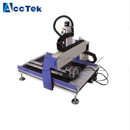 Mini routeur automatique de CNC de sculpture sur bois 3d 4 axes AKG6090 mini routeur de CNC 4 axesMini routeur automatique de CNC de sculpture sur bois 3d 4 axes AKG6090 mini routeur de CNC 4 axes
