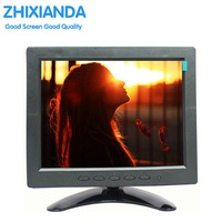 8 Inch TFT LED Monitor 1024x768 Resolution Display Portable 4 3 IPS HD Color Video Screen